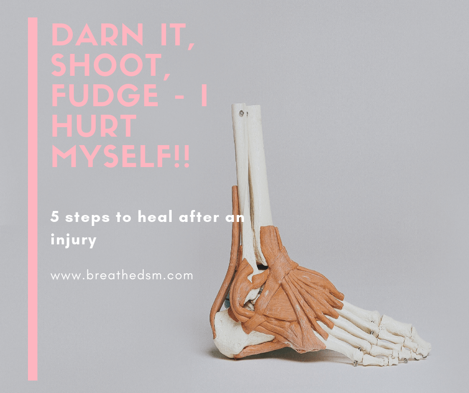 Physical Therapist Model - Healing Muscle Injury