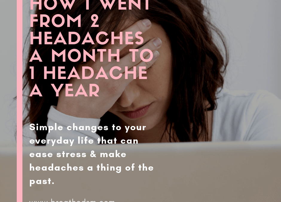 Stress = Headaches, How to Handle it!